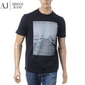 アルマーニジーンズ ARMANI JEANS クルーネックTシャツ メンズ 3Y6T48 6JPFZ...