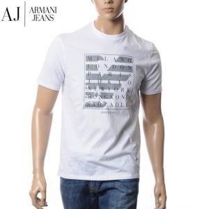アルマーニジーンズ ARMANI JEANS クルーネックTシャツ メンズ 3Y6T21 6J00Z...