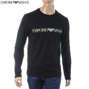 エンポリオアルマーニ EMPORIO ARMANI UNDERWEAR クルーネックTシャツ 長袖 ...