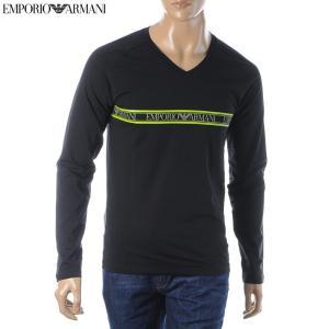 エンポリオアルマーニ EMPORIO ARMANI UNDERWEAR VネックTシャツ 長袖 メン...