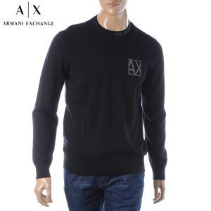 アルマーニエクスチェンジ A|X ARMANI EXCHANGE クルーネックニット セーター メン...