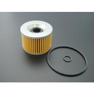 ゼファー400/χ  オイルフィルター(オイルエレメント)