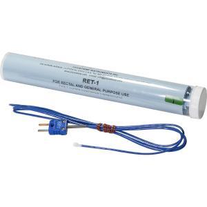 RET-1:熱電対温度センサー直腸温測定用、先端部径:5.8mm、全体:2.4mm径 x 長さ1.5m|brck