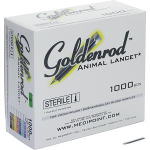 Goldenrod アニマルランセット 3mm(1000入り)|brck