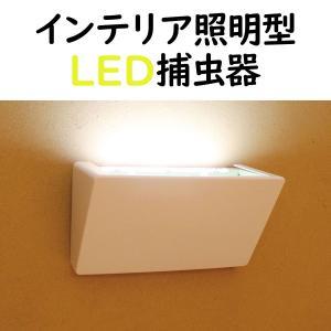 インテリア照明型LED捕虫器 ルーチ・虫とらハク セット (虫とらハク本体、ACアダプター、捕虫シート1 枚) LMT-BB-B-A-N|brck