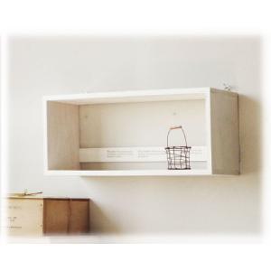 飾り棚 シェルフ 壁掛け トイレットペーパーラック 木製 飾りボックスNo.4 アンティーク BREA|brea-interior