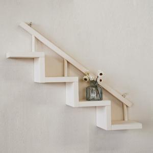飾り棚  階段棚 大/壁掛け/インテリア/シェルフ/木製/ディスプレイ/BREA|brea-interior