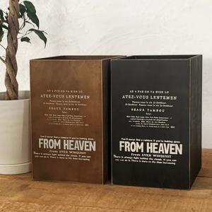 ごみ箱 ゴミ箱 木製 ダストボックス おしゃれ アンティーク インテリア BREA|brea-interior