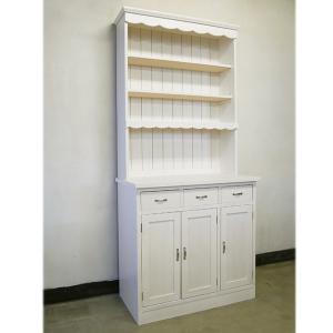 おしゃれ インテリア 木製 食器棚 カップボードB 日本製 BREA|brea-interior