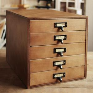 書類ケース 5段 レターケース A4 木製 チェスト 引き出し 書類整理 棚 収納 BREA