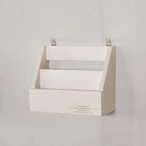 レターラックNo.6 ホワイト おしゃれ インテリア 木製 ラック/日本製/BREA|brea-interior