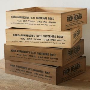 木箱 ガーデニング 収納ボックス 木製 カントリーボックスLL BREA|brea-interior