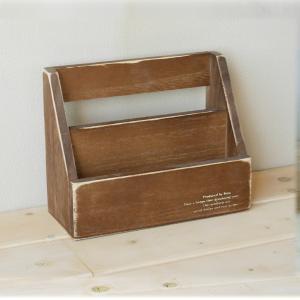 壁掛け レターラック 小 アンティーク おしゃれ インテリア 木製 ラック/日本製/BREA|brea-interior