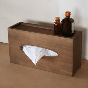 おしゃれ/ティッシュケース/小物置きティッシュカバー/木製ティッシュボックス/BREA