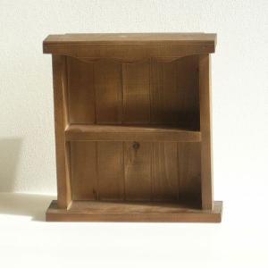 飾り棚 ラック シェルフ 木製 カントリー棚小 アンティーク ディスプレイ/BREA|brea-interior