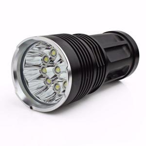 フーポット 超高輝度 26000LM 11 x CREE XM-L T6 LED 懐中電灯 led sunspot flash light ハンティング・ランプ 強力 防水 登山 LED 探照ライト 防災グッズ アウ|break19