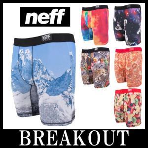 NEFF / ネフ NIGHTLY under wear ボクサーパンツ アンダーウェア インナー スポーツ breakout
