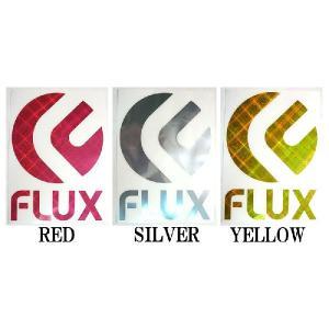 FLUX / フラックス HOLO 1 Lサイズ ステッカー スノーボード|breakout|02