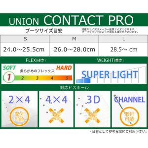 18-19 UNION/ユニオン CONTACT PRO コンタクトプロ メンズ ビンディング バインディング スノーボード 2019|breakout|09