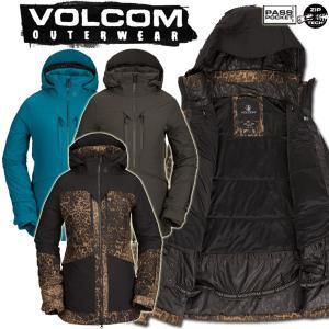 19-20 VOLCOM/ボルコム FERN INS GORE-TEX pullover レディース スノーウェア ゴアテックス ジャケット スノーボードウェア 予約商品 2020|breakout