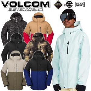 18-19 VOLCOM/ボルコム L GORE-TEX jacket メンズ スノーウェア ゴアテ...