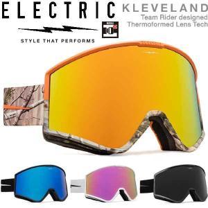 19-20 ELECTRIC / エレクトリック KLEVELAND マーカスクリーブランド ゴーグル メンズ レディース スノーボード スキー 予約商品 2020|breakout