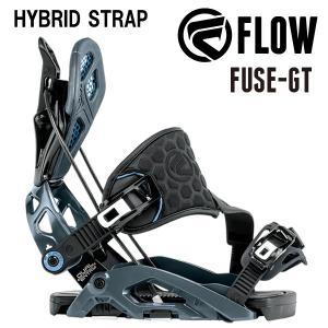 即出荷 17-18 FLOW/フロー FUSE-GT HYBRID メンズ レディース ビンディング バインディング スノーボード 2018 型落ち|breakout