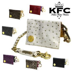 KFC /キッカーファッカーチキン PASS CASE & CHAIN パスケース レディース チケットホルダー スノーボード アクセサリー|breakout