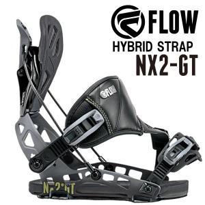 即出荷 17-18 FLOW/フロー NX2-GT HYBRID メンズ レディース ビンディング バインディング スノーボード 2018 型落ち|breakout