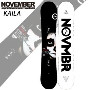 19-20 NOVEMBER/ノベンバー KAILA カイラ メンズ 板 国産 スノーボード 予約商品 2020 breakout