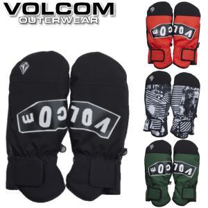 19-20 VOLCOM / ボルコム Vcm Mitt ミトングローブ 手袋 メンズ レディース スノーボード スキー メール便対応 BREAKOUT