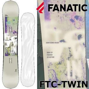 19-20 FANATIC/ファナティック FTC TWIN エフティーシーツイン メンズ レディース 板 スノーボード 予約商品 2020|breakout