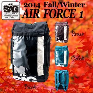 SAGLife サグライフ 14 FALL AirForce1 秋モデル エアーフォースワン  ロールパック   メッセンジャー ピスト|breakout