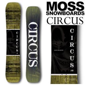 19-20 MOSS SNOWBOARDS/モススノーボード CIRCUS サーカス メンズ レディ...