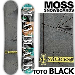19-20 MOSS SNOWBOARDS/モススノーボード TOTO BLACK SF トトブラッ...