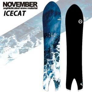 19-20 NOVEMBER/ノベンバー ICECAT アイスキャット パウダー メンズ 板 国産 スノーボード 予約商品 2020 breakout
