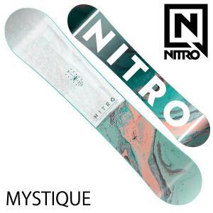 19-20 NITRO/ナイトロ MYSTIQUE ミスティック レディース 板 スノーボード 予約商品 2020|breakout