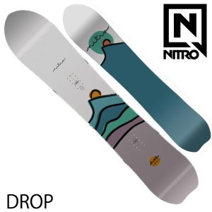 18-19 NITRO/ナイトロ TREEHUGGER ツリーハガー メンズ パウダー クイーバー 板 スノーボード 2019 型落ち|breakout
