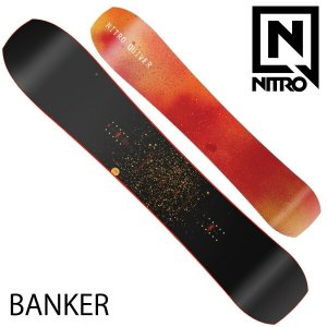 19-20 NITRO/ナイトロ BANKER バンカー メンズ QUIVER 板 スノーボード 予約商品 2020|breakout