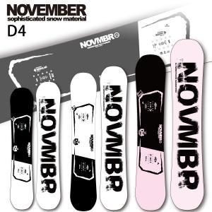19-20 NOVEMBER/ノベンバー D4 BLACK ディーフォー メンズ レディース グラトリ 板 国産 スノーボード 予約商品 2020 breakout