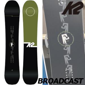 19-20 K2/ケーツー BROADCAST ブロードキャスト メンズ 板 スノーボード 予約商品 2020|breakout