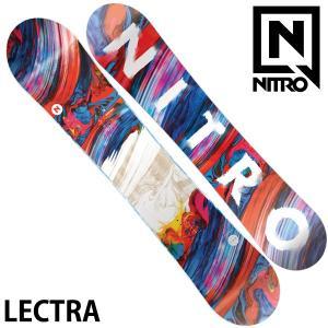19-20 NITRO/ナイトロ LECTRA レクトラ レディース 板 スノーボード 予約商品 2020|breakout