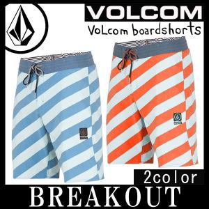 即出荷 VOLCOM/ボルコム メンズ サーフパンツ ボードショーツ 海パン 水着 Stripey Stoney A0811710 19インチ サーフィン メール便対応|breakout