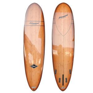 サーフボード ミニロング サーフィン アドバンス / ADVANCED 7'4 EPS/BAMBOO A27 営業所止め 送料無料|BREAKOUT