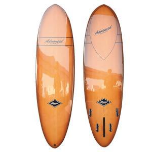 サーフボード ミニロング サーフィン アドバンス / ADVANCED 6'7 EPS/BAMBOO A45 営業所止め 送料無料|BREAKOUT
