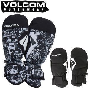 20-21 VOLCOM / ボルコム JP STN MITT ミトングローブ 手袋 メンズ レディース スノーボード スキー メール便対応 BREAKOUT
