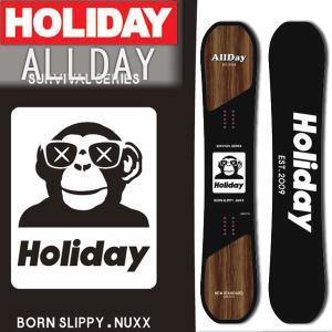 19-20 HOLIDAY/ホリデー ALLDAY オールデイ メンズ レディース 板 スノーボード...