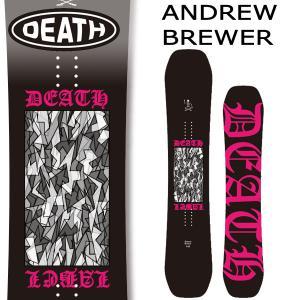 19-20 DEATH LABEL/デスレーベル ANDREW BREWER アンドリュー・ブリューワー メンズ 板 スノーボード 予約商品 2020|breakout