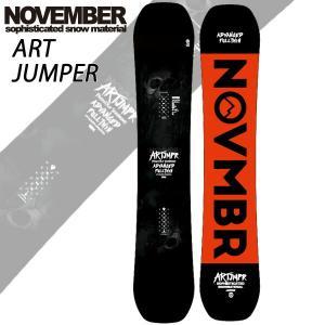 19-20 NOVEMBER/ノベンバー ARTJAMPER アートジャンパー メンズ レディース 板 国産 スノーボード 予約商品 2020 breakout