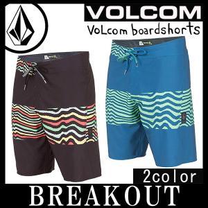 即出荷 VOLCOM/ボルコム メンズ サーフパンツ ボードショーツ 海パン 水着 MacawMod A0811703 20インチ サーフィン メール便対応|breakout